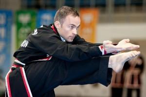 Master James demonstrates in Korea